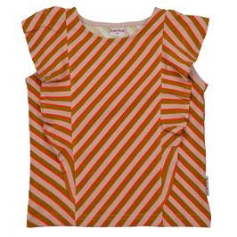 NEU: Rüschchen-T-shirt diagonal gestreift von Baba