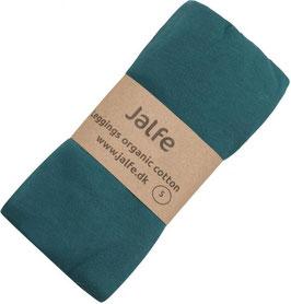 NEU: Leggings aus Bio-Baumwolle in Petrol von Jalfe