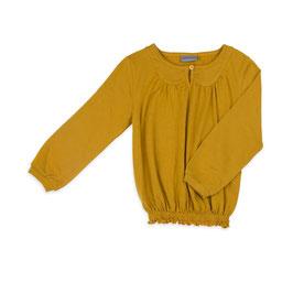 Langarm-Shirt in Mustard von Froy&Dind