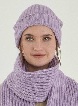 NEU: Woll-Mütze gestrickt in Lila von Organication