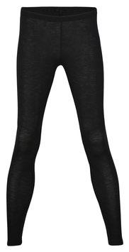 NEU: Wolle/Seide Leggings für Damen in Schwarz von Engel Naturtextilien