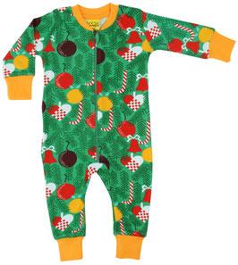SALE: Einteiler-Pyjama Weihnachtsbaum von DUNS bis Grösse 122