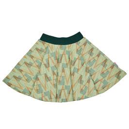 SALE: Jupe mit geometrischem Muster von Baba