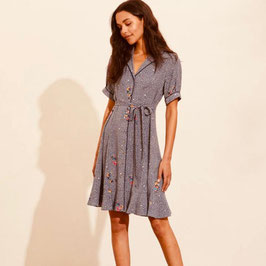 Odd Molly Jenna Shirt Dress Blue