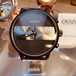 OOZOO Herren -Armbanduhr mit Metallband Schwarz Nr. 14