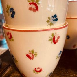 Greengate Latte Cup Viola white