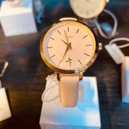OOZOO Damen-Armbanduhr Rosé/Gold Nr. 01