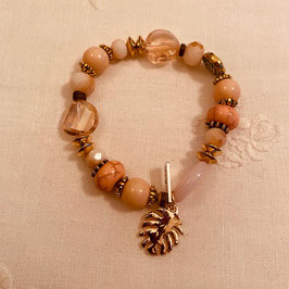 Nordish House Bracelet Rosé/Gold Nr. 10