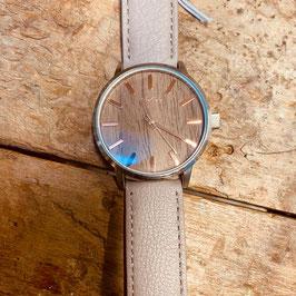 OOZOO Unisex -Armbanduhr Beige/Holzfarben Nr. 18