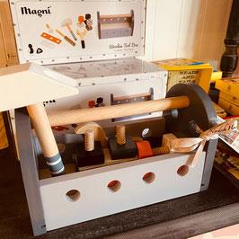 Dänisches Holzspielzeug Werkzeugkoffer
