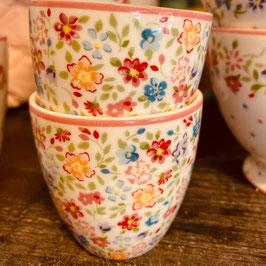 Greengate mini Latte Cup Clementine White