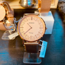 OOZOO  Damen-Armbanduhr Vintage Style Nr. 05