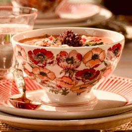 Greengate Soup Bowl Aria white D15cm