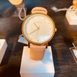OOZOO Damen-Armbanduhr Rosé/Gold Nr. 02