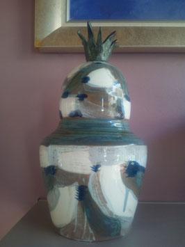 boite décorative (en enlevant le couvercle peut devenir un vase!)