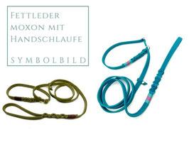 Fettleder Moxonleine (Retrieverleine) [OPTIONEN]