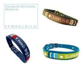 P) Biothane Halsbänder - Premium [OPTIONEN]