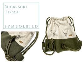 S) Rucksäcke - Stoff - Hirsch