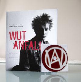 Buch und CD WUTANFALL Punk in der DDR 1982-1989. Die Protagonisten damals und heute