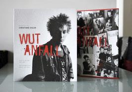 ART EDITION Buch WUTANFALL - Punk in der DDR 1982-1989. Die Protagonisten damals und heute