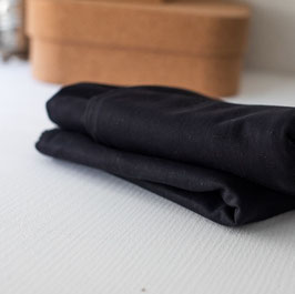 Washed Cotton Twill Black 9 OZ Mind the Maker