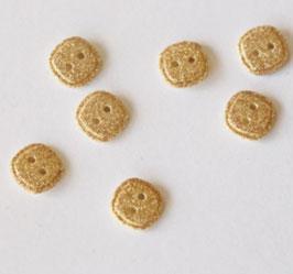 Knopf carré gold