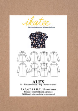 Schnittmuster Ikatee Alex Blouse