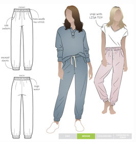 Style Arc Ernie Knit Pant