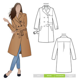 Style Arc Tracy Trench Coat