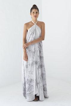 Multiposition Dress Long Tencel tye dye