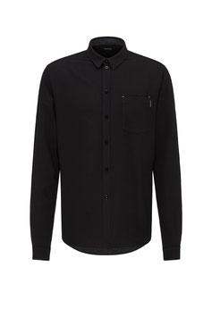 Leinenhemd schwarz