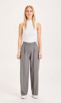 Wide Pants POSEY pin stripe grey