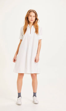 Shirtkleid Kragen AZELA white