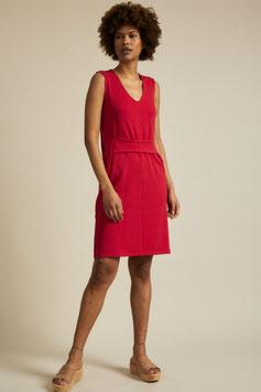 Kleid mit Bindedetail chili pepper