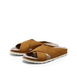 Pantolette SOLE - whiskey
