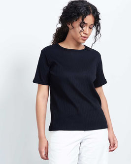 T-Shirt BOY Rib black