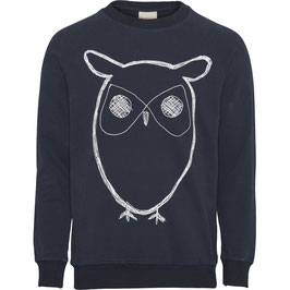 Sweater Big Owl dunkelblau