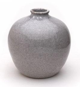 Vase groß steingrau