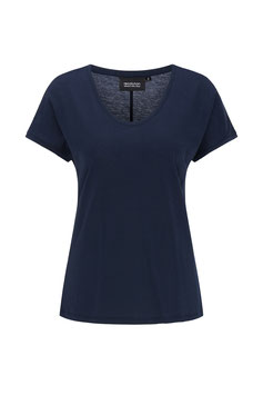 T-Shirt Tencel navy