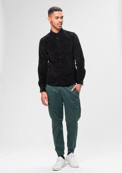 Cord Hemd schwarz