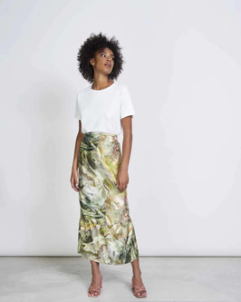 Skirt ISABEL jade print