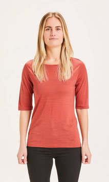 Tencel T-Shirt VIOLET red
