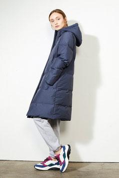 Coat AIKE - steel blue