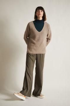 Pullover mit V-Ausschnitt natural