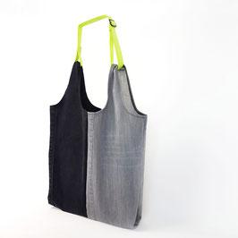 Shopper - black/limone
