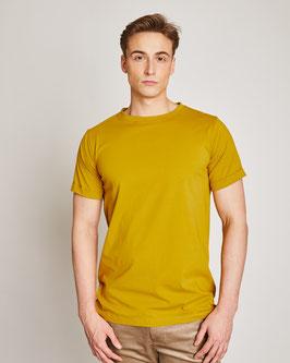 T-Shirt BOY men - muddy yellow