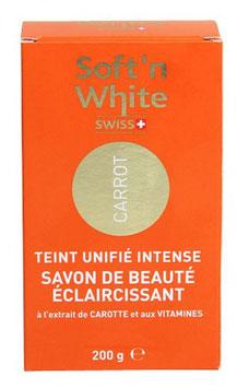 Soft n' White Carrot  Haut Aufhellungsseife
