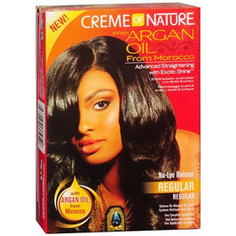Cream of'Nature Argan Oil Relaxer Kit Regular