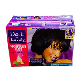 Dark and Lovely  MOISTURE PLUS No-lye Relaxer kit, Regular