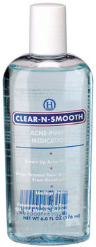 CLEAR -N -SMOOTH ACNE PIMPLE Exfoliating Toner 176ML